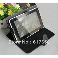 "Wholesale - Multi-Angle BLACK Magic Leather Case + stylus For 8"" Nextbook Premium 8 se Premium8se  Free Shipping"
