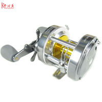2014 Seconds Kill Direct Selling Bait Casting Casting Drum Type Reel 6 4000 Series China Metal 5+1bearing( Kx40) Free Shipping
