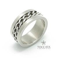 Transhipped chain male titanium ring fashion Men accounterment accessories