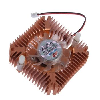 3Pcs 55mm Cooling Fan Heatsink Cooler for PC Computer Laptop CPU VGA Video Card DropShipping