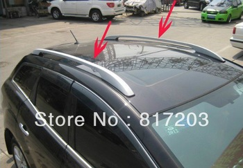 Free shipping 2007-2011 Mazda CX-7 High quality Aluminium alloy Luggage rack(Pasted directly installed)