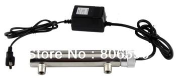 Free Shipping Home Water Sterilizer 100L/hr UV germicidal lamp