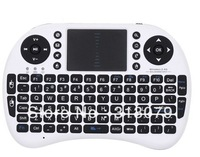 10pcs/lot freeshipping USB 2.4GHz wireless Keyboard with Touchpad Rii Mini i8 92 keys, for  Desktop,Laptop,Tablet