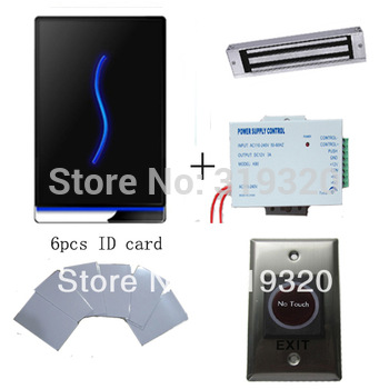 Zksoftware TCP/IP 30000 users  access control FRID card access control system with power supply magnetic lock infrared button