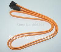 Free shipping 10pcs/lot 3.3 ft SATA EXTERNAL SHIELDED CABLE SATA TO SATA