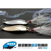 Free HOT   10pcs/lot Fishing Lures Fishing spinner   Paillette sallei lure paillette classic paillette metal lure