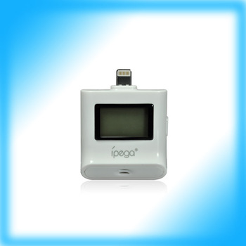 50pcs/Lot 2013 Hot new for iPhone 5 iPad iPod LCD Breath Alcohol Analyser Tester Breathalyser Free DHL or UPS !!