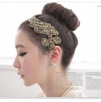 Min.order is $10 (mix order) 72G33  Fashion elegant charming Phoenix hair band hair clip wholesale free shipping