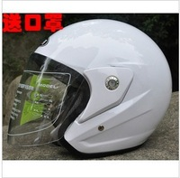 Helmet 612 motorcycle helmet electric bicycle helmet thermal white