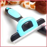 Free Shipping 5Pcs/Lot Magic Pet Hair Removal Comb Pet Fur Deshedding Tool Pet Brush Grooming Comb Dog Metal Blade