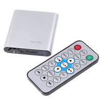 Free shippingHD Media player 1080P Full HD Player Mini Multi-Media Player with Remote Control HDMI Output W/USB/SD Video Player