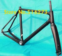 FR-602  Full Carbon Matt Cyclocross cross road Bike Bicycle Frame , fork , Headset -  51cm, 53cm, 55cm, 57cm
