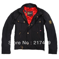 brand new man windproof waterproof nylon belsta gangster motor jacket