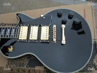 deluxe custom-3 Black Beauty electric guitar gs mahogany body in stock free shipping