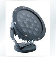 18W high power outdoor led spotlight IP65 18W RGB led floodlight  DMX512 control 2years warranty