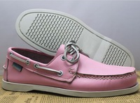 Free shipping 2013 Genuine Leather relax foot sole Flat Heel Sailing Boat Shoes loon slip-on shoes Drive shoes Size36-46
