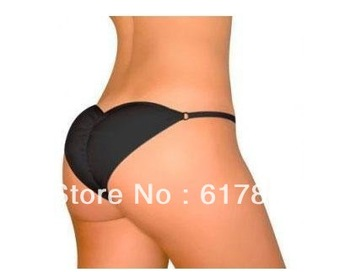 Free shipping Brazilian Secret sexy Lingerier Underwear Padded Pantys Beautify Buttocks up panty