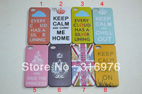 New keep clam 18 different designs with same price hard back case cover skin for iphone 4 4G 4th free shipping 10pcs/lot