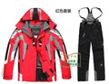 free shipping men Jackets  and pants  waterproof windbreaker ski suits outdoor clothes