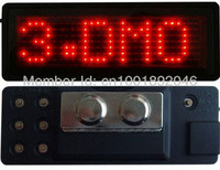 LED displays/LED badges/LED card/quotation/LED work Electronic card/led working numbe