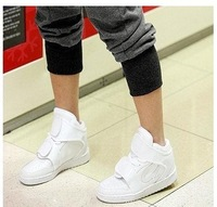 Hot Lovers Velcro High-Top Strap Sneakers Flat Ankle Boots/Casual shoes #836