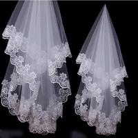 2013 Bridal Veil Wedding Panniers Gloves Wholesale/Retail Free Shipping