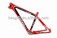 26er Carbon Mtb Red Bicycle Frame