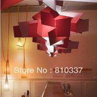 90cm red/white Modern Big Bang Pendant Lamp Lighting light bedroom dining room pub Chandelier EMS FREE SHIPPING