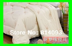 2kg Natural Silk filled duvet/silk quilt for summer 200*230cm(China (Mainland))