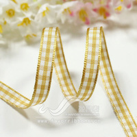Ribbon 6mm plaid belt plaid belt diy hair accessory ribbon