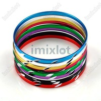 alloy Hot sell 50pcs/lot Free shipping Wholesale color aluminum bracelet bracelet  fashion jewelry