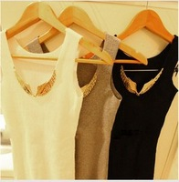 2013 Summer Fashion Women's Normic Endurably Wings Seamless Vest