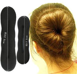 Min. order is $15 (mix order) 1501  bud head steamed stuffed bun maker head hair stick tape tool sponge hair maker