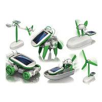 Free Shipping!!! Fashion Solar Robots,6 In 1 Educational DIY Solar Kits,Solar Toys,Christmas Gifts