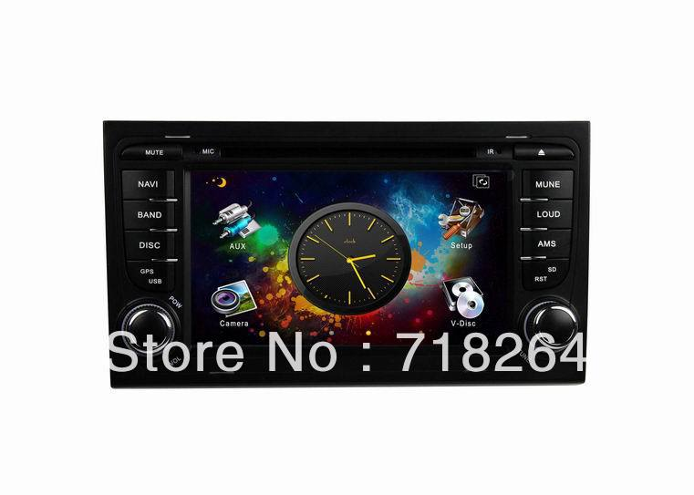 Wholesale+Free shipping!Car DVD GPS for AUDI with 3D rating UI+PIP+GPS BT TV USB SD IPOD Canbus AUX in ,steering wheel control(China (Mainland))