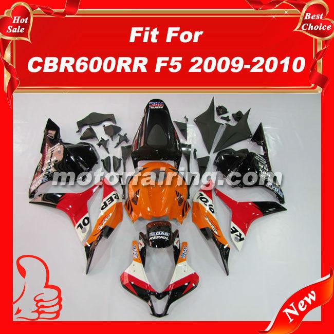 Мото обвесы Fairingkit ABS CBR600RR 09 10 CBR600 2009 2010 abs plastic motorcycle black ram air intake tube duct for honda cbr600rr f5 2007 2011 2009 2010