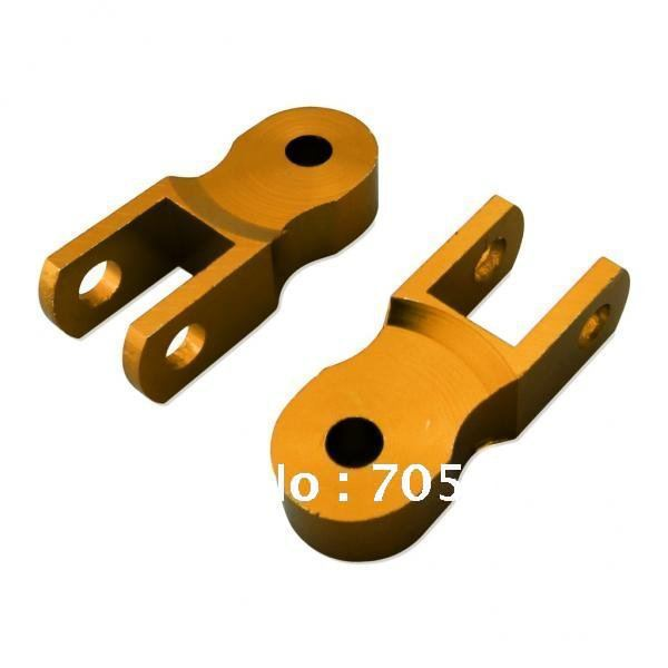 Golden Rear Shock Extender Riser For Dirt Bike Kawasaki Scooter 50mm(China (Mainland))