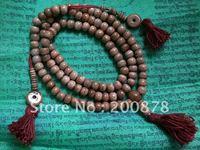 BRO672 Tibetan 108 beads yak bone Meditation prayer mala,8mm,Tibet beige bone rosary,Tibet antiqued rosary,best offer