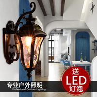 Ilebule fashion wall lamp outdoor fixtures balcony waterproof lighting the door lamp garden lights dz31