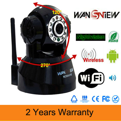 Wireless Security Wifi IP Camera Network IR CCTV NIGHT VISION Webcam Pan/Tilt(China (Mainland))