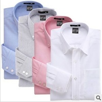 Free Shipping Hot Sale Man's Stylish Dress Shirts  Long Sleeve Business Shirt For Man Factory Wholesale Price 28 Color TS-012