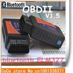 Professional diagnostic tool bluetooth ELM327 OBD2 / OBD II V1.5 Auto Car bluetooth  auto detector diagnostic instrument