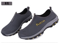 summer gauze breathable walking shoes hiking off-road shoes fashion sport shoes,free shipping men athletic shoes barefoot