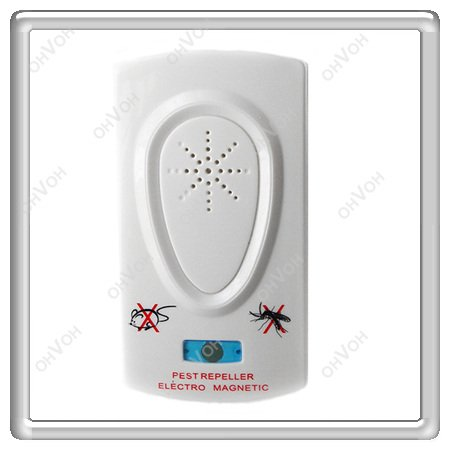 S5Y Ultrasonic Electronic Pest Mouse Stop Control Repeller Cockroach Trap Killer(China (Mainland))