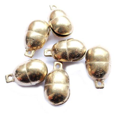 DIY Loose Beads NBB412 lovely beans brass bells 3#,40*24mm,10pcs lot, groundnuts windbells,best offer(China (Mainland))