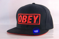 Hot-selling obey hats snapback baseball cap bboy hiphop cap hiphop flat along the cap ny