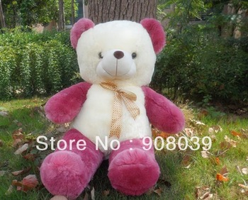 HOT SALE   High quality Low price Plush toys purple color  teddy bear embrace  doll /lovers/christmas gifts birthday gift 70CM