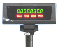 Low price! CS-8N pos customer display, 8 bits digital pole display