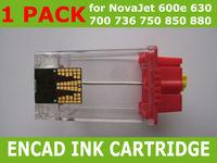 1 X Empty Latest Ink Cartridge for Encad NovaJet PRO 600e 630 700 736 750 850 880 New