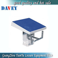 Luxury stainless steel swimming pool starting block
